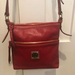 Dooney & Burke Crossbody Red